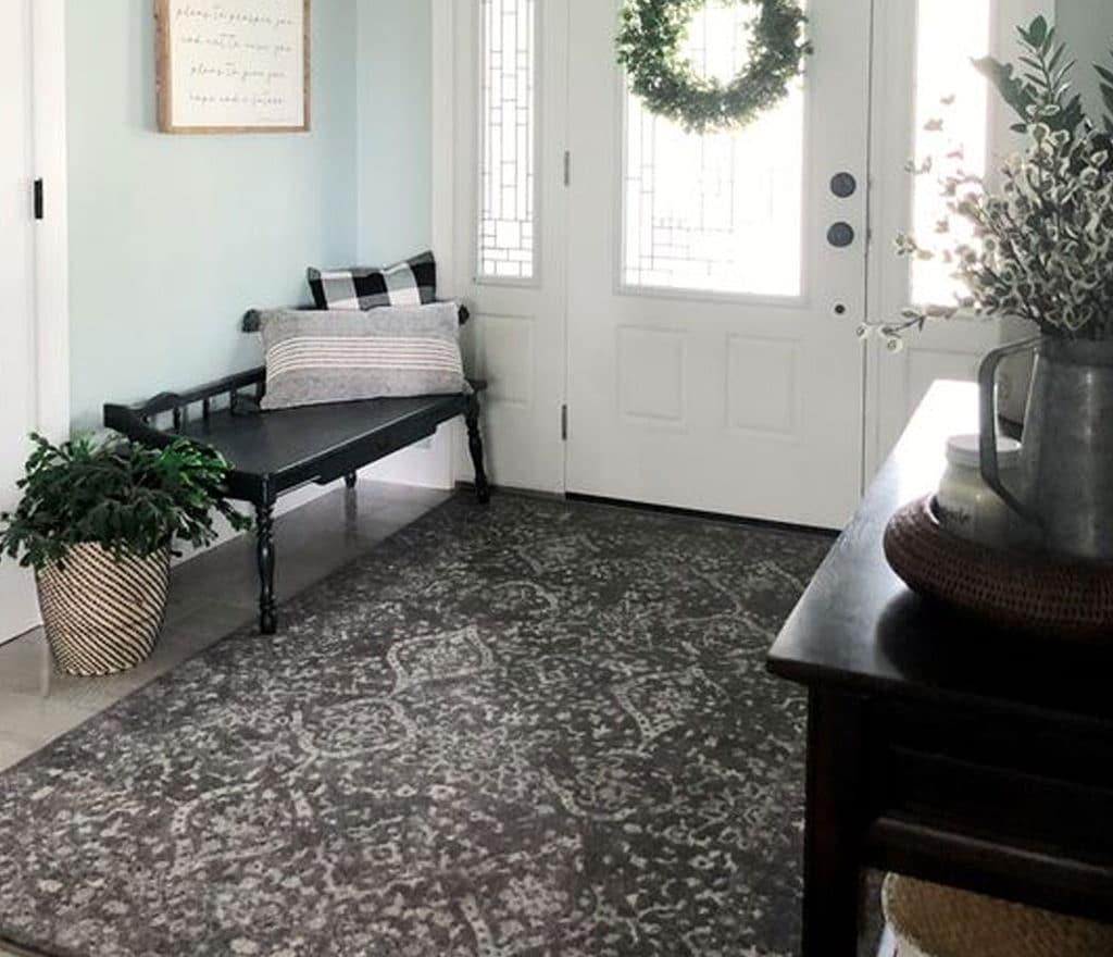 tapete para hall de entrada